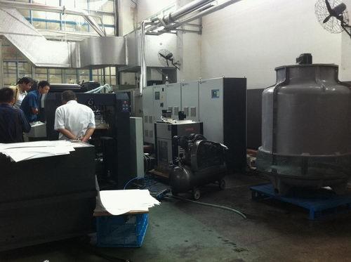 中景胶印机加装uv1