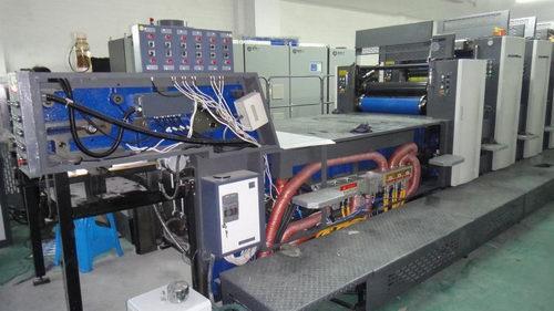 扑克印刷机加装UV