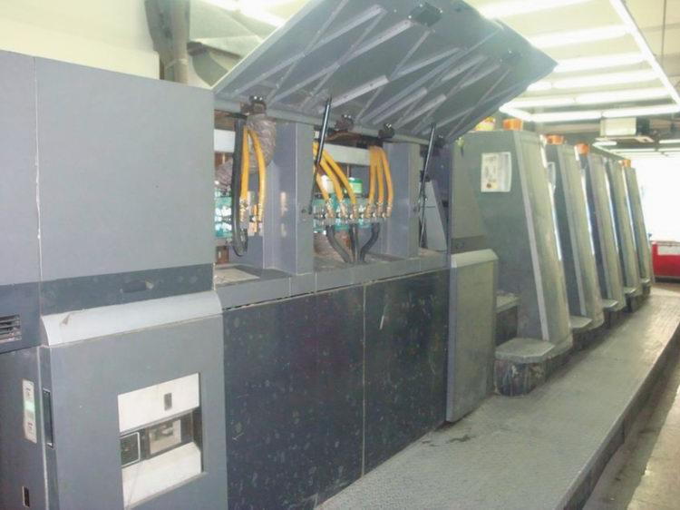 海德堡XL750胶印机器加装UV系统