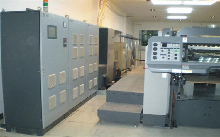 日本RYOBI(良明)利优比印刷机加装UV系统