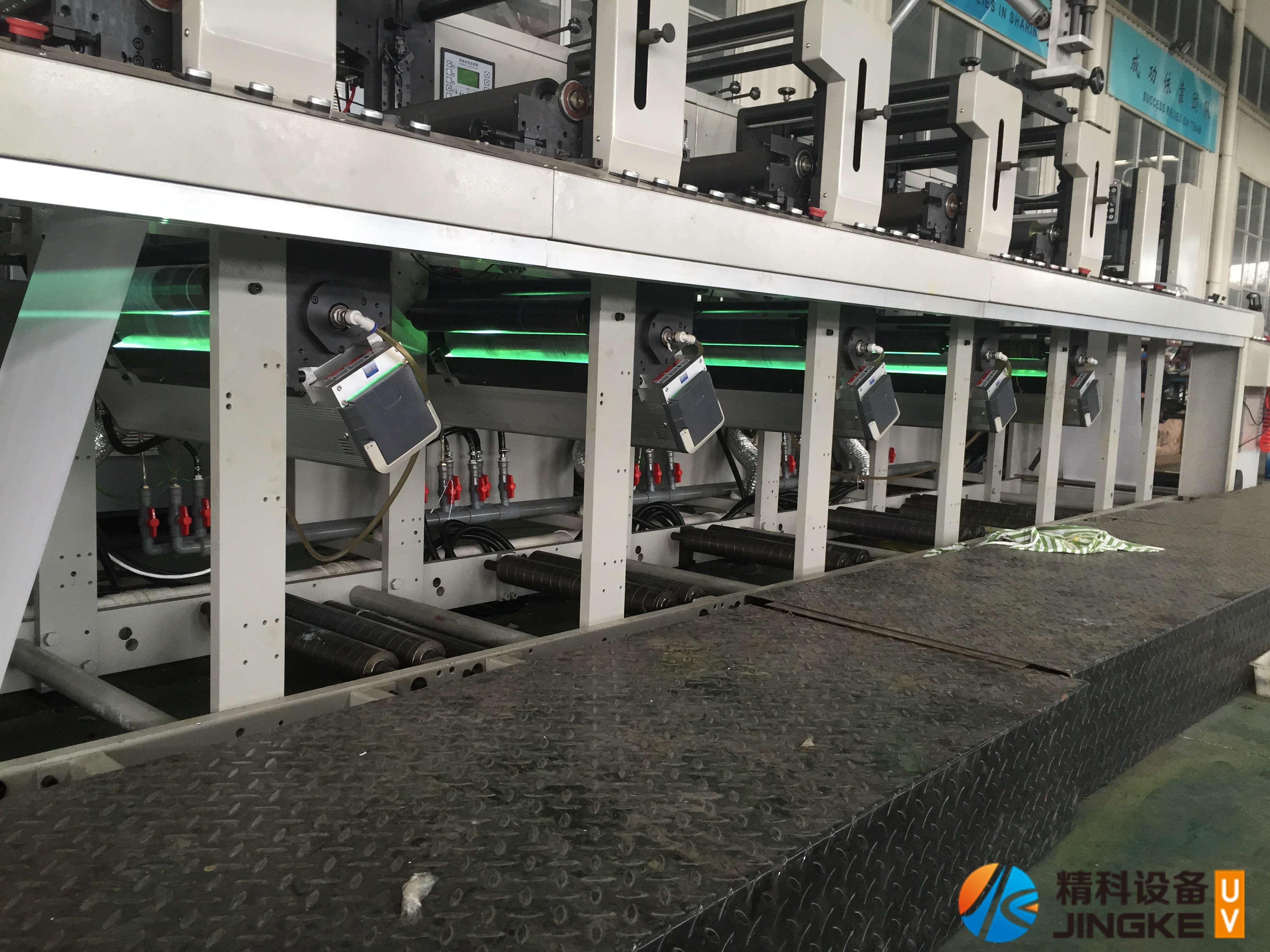 意高发柔印机加装UV5