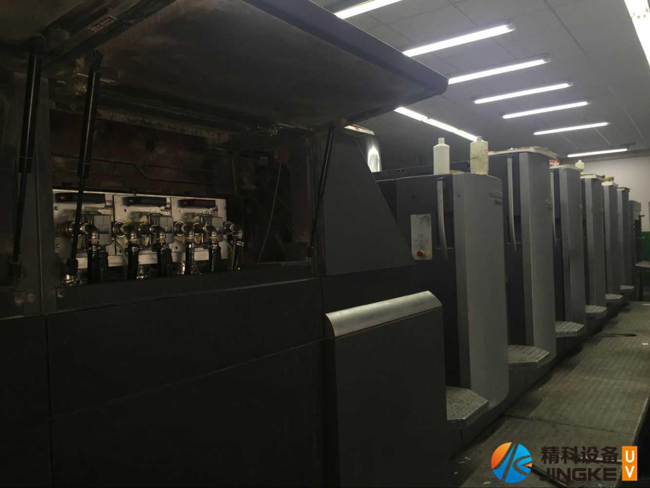海德堡CD102胶印机加装UV设备