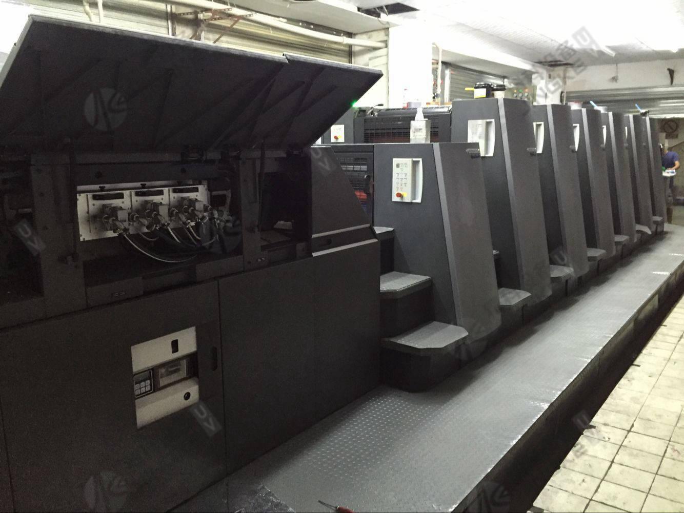 海德堡CD740胶印机加装UV设备2