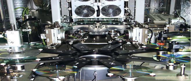 光盘丝网印刷