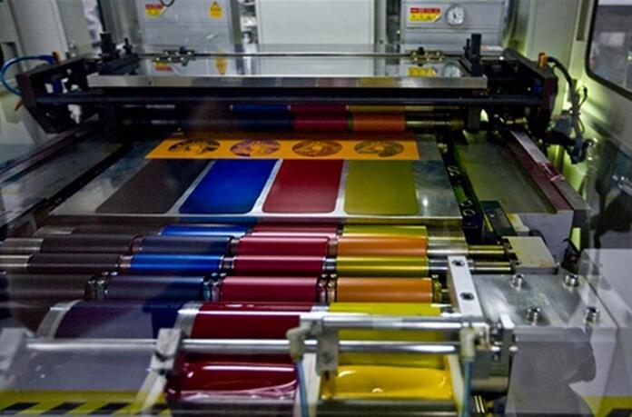 光盘丝网印刷要点