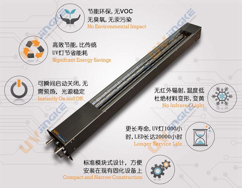 led uv固化系统优点