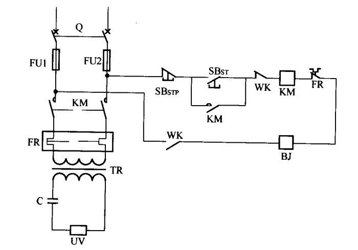 高温报瞥、断电保护电路