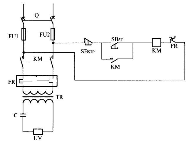 UV灯电源的基本电路