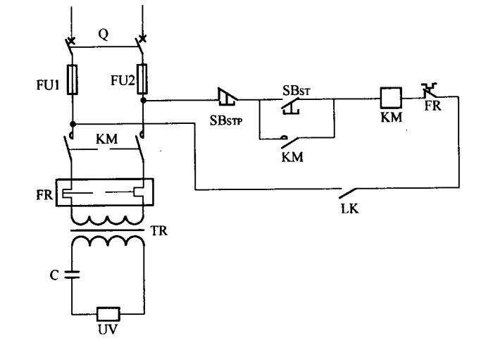 冷却设备保护电路