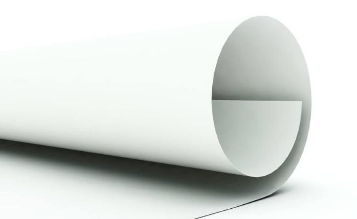 纸张卷绕造成纸张卷曲