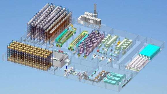 智能印刷工厂